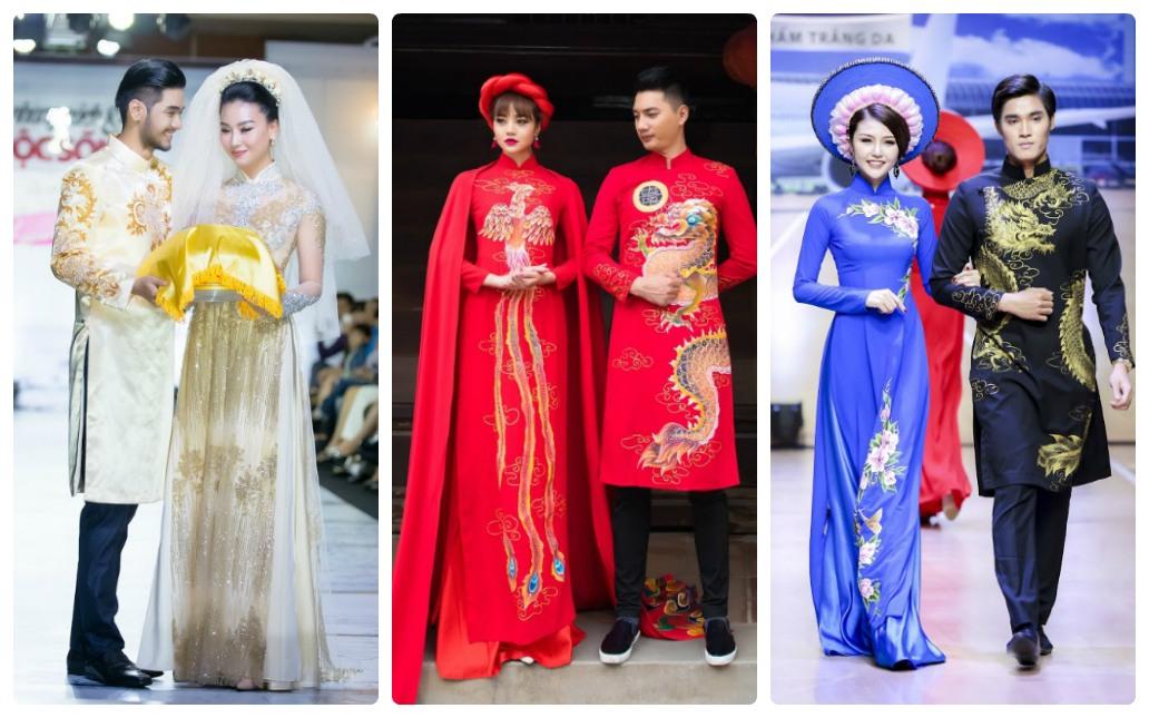 lựa chọn áo dài cưới chú rể