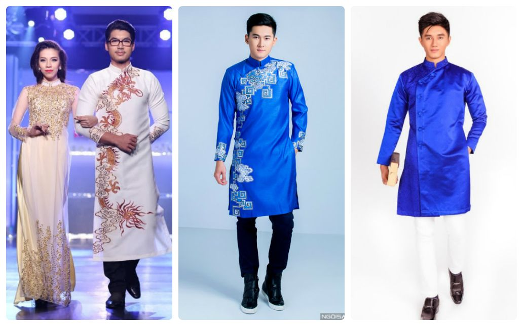 Gợi ý những mẫu áo dài cho nam giới