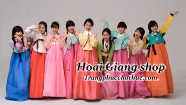 Chia sẻ địa chỉ thuê hanbok tại TPHCM