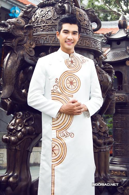 cho thuê áo dài nam đi lễ chùa