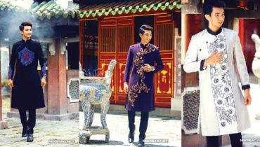 Cho thuê áo dài nam cách tân đi lễ chùa