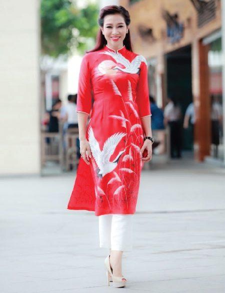 áo dài nữ cách tân ngắn