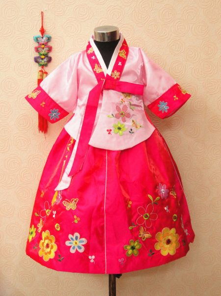 bán và cho thuê hanbok trẻ em