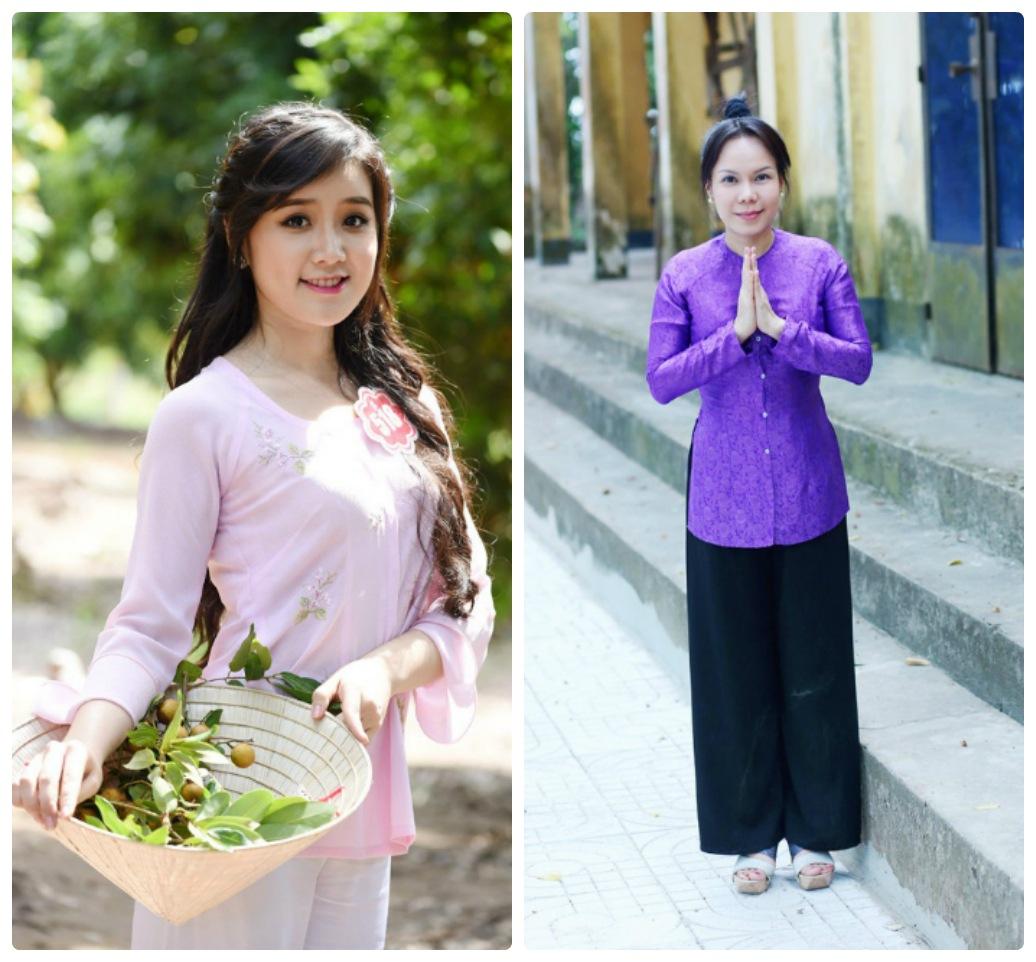 Áo bà ba đi lễ chùa