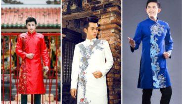 Cách lựa chọn áo dài nam cách tân theo màu sắc