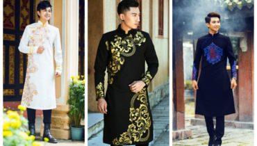 Lựa chọn áo dài nam cách tân theo dáng người