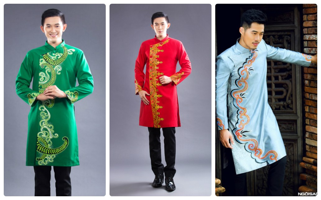 Những lý do nên chọn áo dài nam cách tân ngắn ngang gối