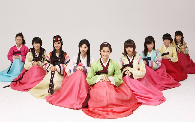 Thu mua hanbok Hàn Quốc