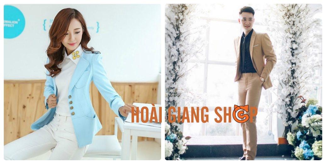 Dịch vụ cho thuê vest Hàn Quốc của Hoài Giang Shop