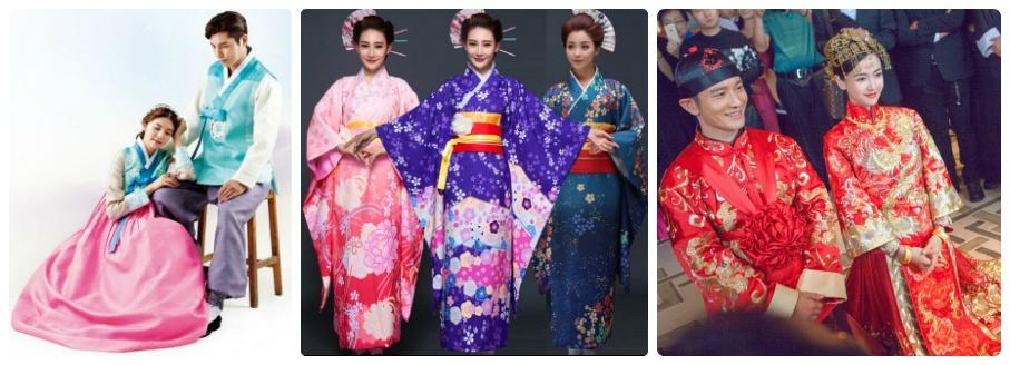 Cho thuê trang phục truyền thống các nước Châu Á