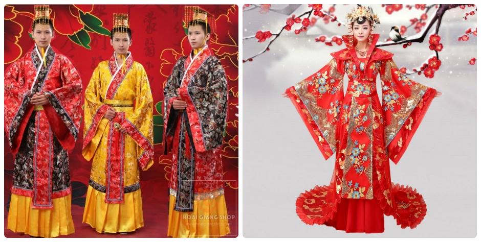 Cho thuê trang phục vua chúa, hoàng hậu Trung Quốc