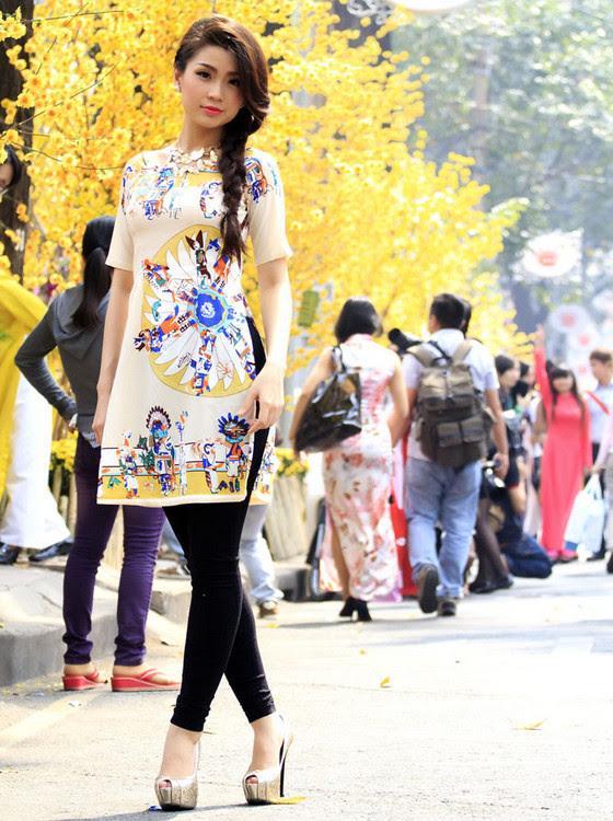 Áo dài cách tân nữ