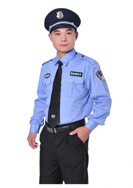 Đồng phục bảo vệ tạo cảm giác thân thiện, tin cậy