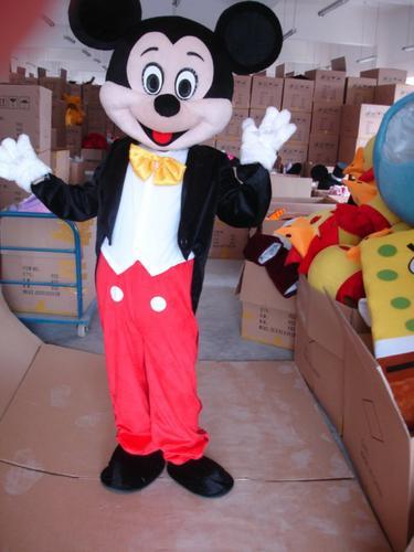 Cho thuê trang phục hoạt hình chuột Mickey