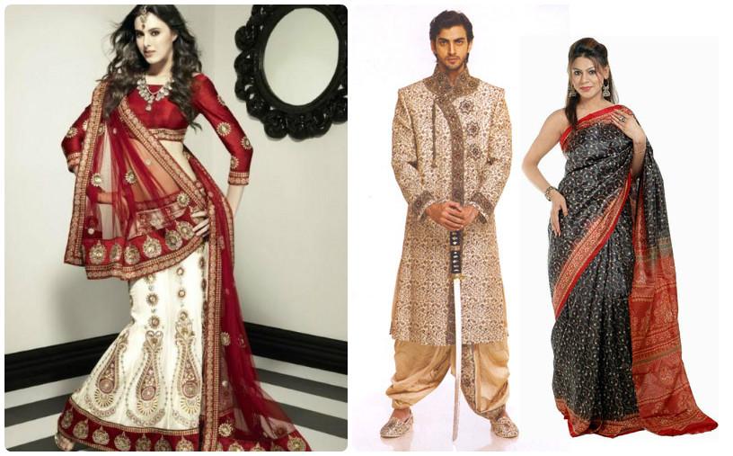 Địa chỉ cho thuê trang phục truyền thống Sari Ấn Độ nam nữ