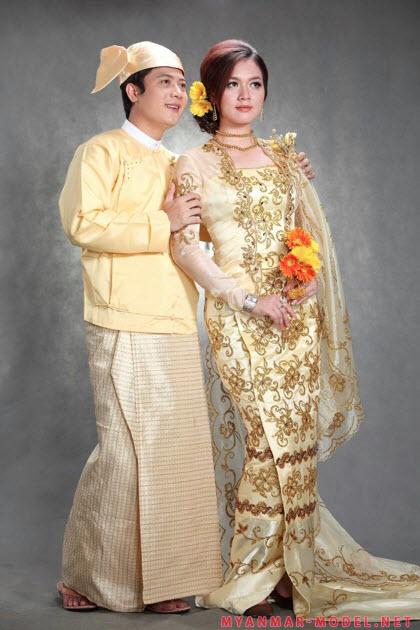 Trang phục truyền thống Myanmar