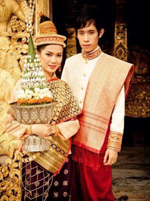 Trang phục truyền thống nước Lào