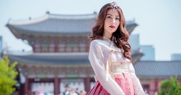 Nhiều người ưa thích sử dụng Hanbok để chụp hình