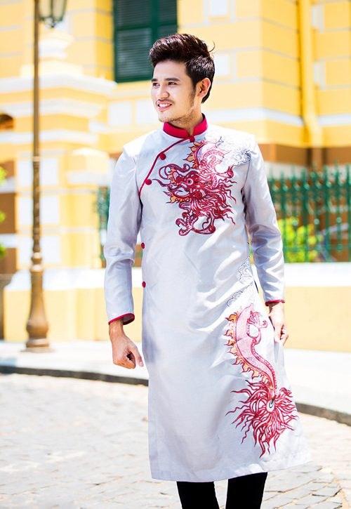 Vẽ áo dài nam mang lại phong cách riêng cho nam giới
