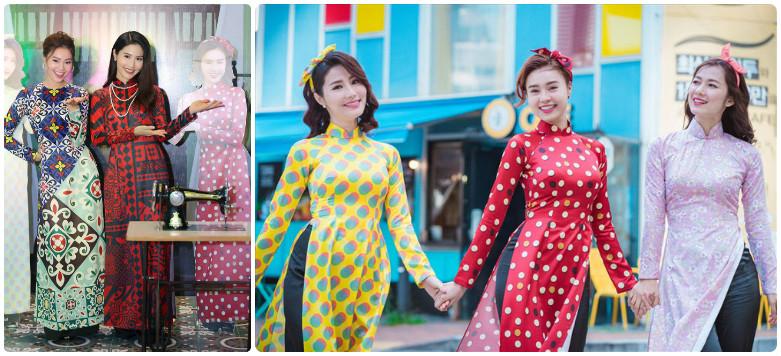 Cho thuê áo dài xưa phong cách Cô Ba Sài Gòn