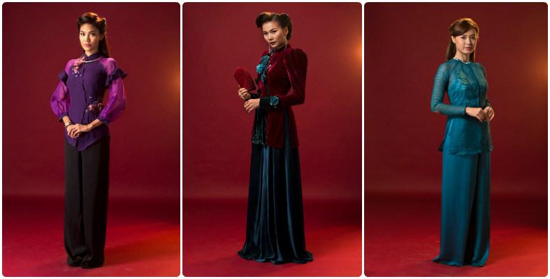 Những mẫu bà ba đẹp trong phim Mẹ Chồng