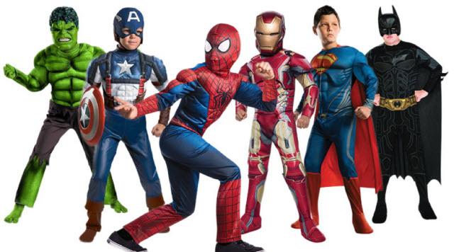 Cho thuê trang phục các siêu anh hùng trong phim