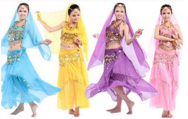 Cho thuê trang phục múa Ấn Độ biểu diễn