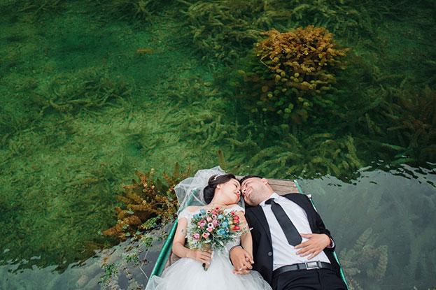 Ảnh cưới Tấm Cám theo phong cách Tây