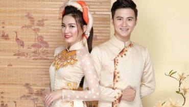 3 gợi ý áo dài cưới cô dâu chú rể nên diện trong hôn lễ