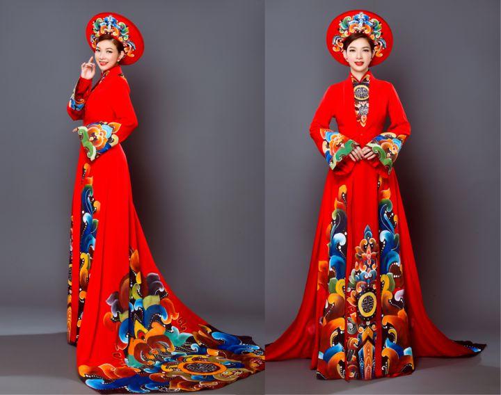 Áo dài cưới Phạm Thanh Thảo gợi ý chị em nên dùng ngay