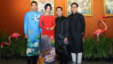 Công diễn Đêm Hoa Lệ chào đón sự xuất hiện của dàn sao diện áo dài nổi bật
