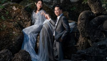 """Cặp đôi Sài thành đam mê """"phượt"""" và bộ ảnh cưới tại Lào đáng nhớ"""