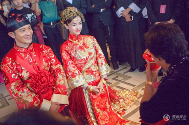 Áo khỏa - Áo cưới truyền thống Trung Quốc