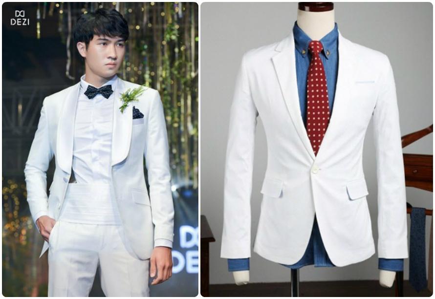 Tìm thuê vest trắng dễ dàng tại Hoài Giang shop